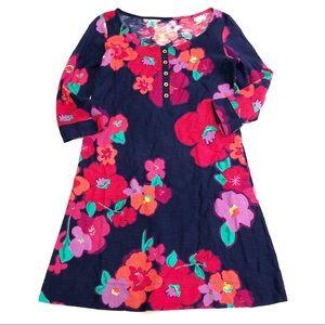 Lilly Pulitzer Navy Garden Games Caila Dress